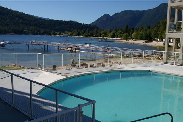 Grand Pool on the edge of Mara Lake in the Shuswap